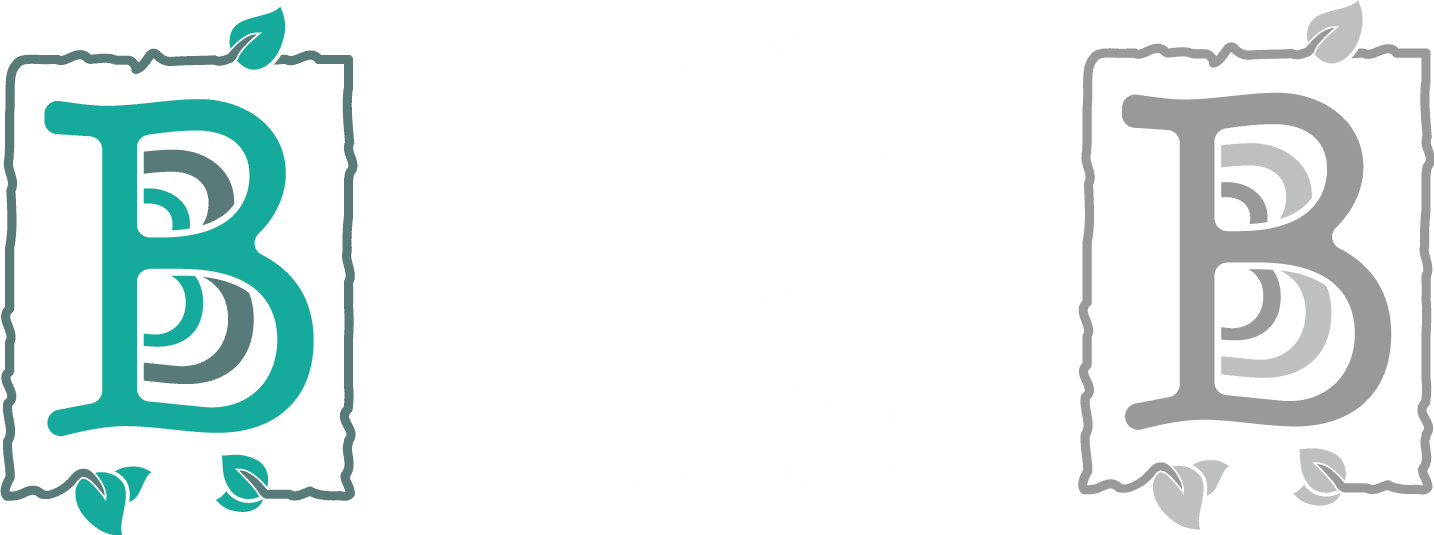 Bucha Brewhouse & Bistro logo with just B's