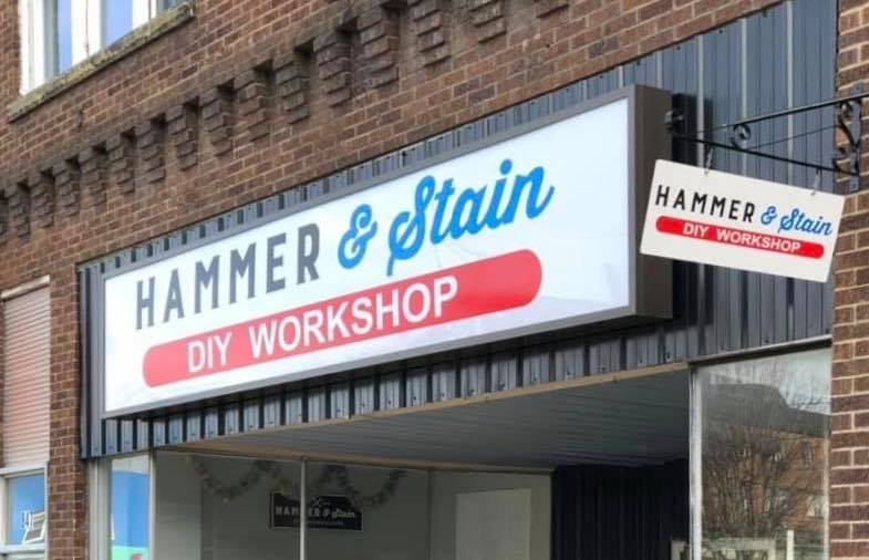 Hammer and Stain Princeton Store Front